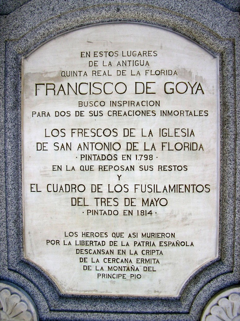 071-GlorietaSanAntónioDeLaFlorida-EstátuaGoya